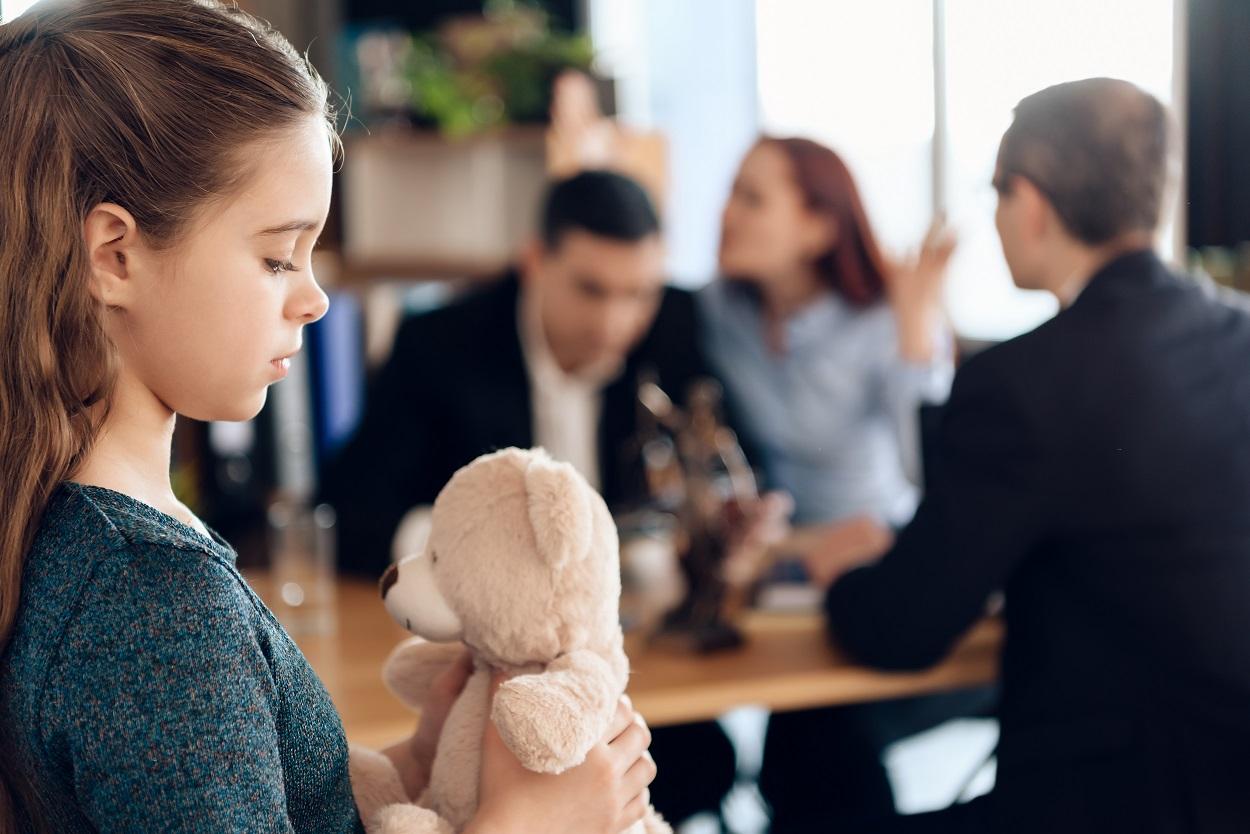 affects of divorce on children